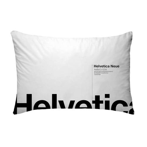 Fronha Helvetica Branco