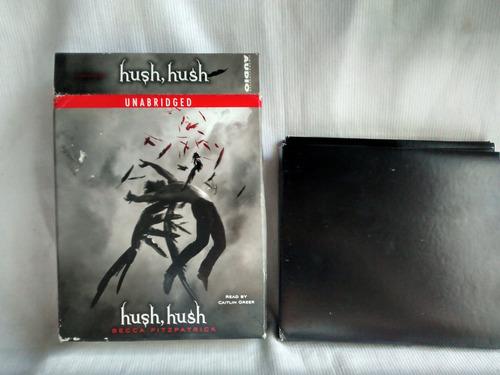 Imagen 1 de 4 de Audio Libro Hush Hush Becca Fitzpatrick 8 Cds En Ingles