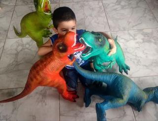 Dinosaurios De Goma Súper Gigantes! Los Más Grandes!