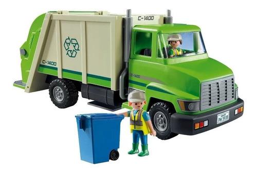Camión De Reciclaje  Playmobil Original City Life 5679