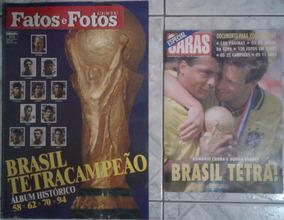 Revistas Fatos E Fotos E Caras Brasil Tetra Campeão Mundial