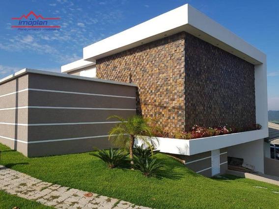 Casa Residencial À Venda, Condomínio Terras De Atibaia I, Atibaia. - Ca3377