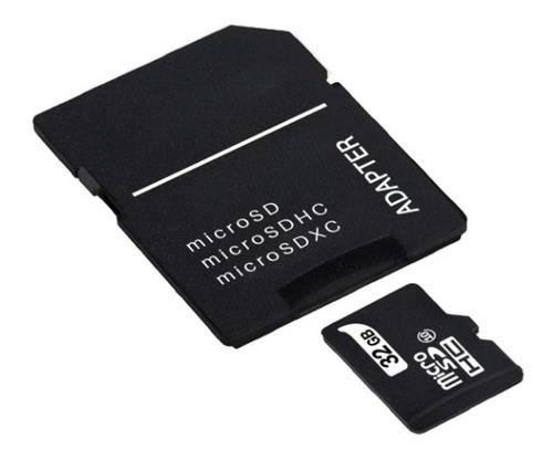 Imagem 1 de 1 de Cartão Memória Micro Sd 32g Para Câmera Wi-fi Celular Lb-m03