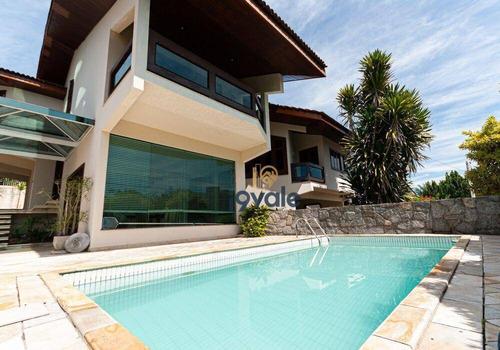 Casa Com 5 Dormitórios À Venda, 680 M² Por R$ 4.000.000,00 - Jardim Das Colinas - São José Dos Campos/sp - Ca1683