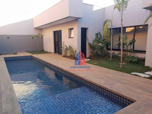 Imagem 1 de 30 de Casa Com 3 Dormitórios À Venda, 250 M² Por R$ 2.150.000,00 - Loteamento Residencial Jardim Villagio Ii - Americana/sp - Ca1587