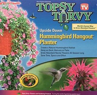 Topsy Turvy Bolsa Para Plantas Flores I585
