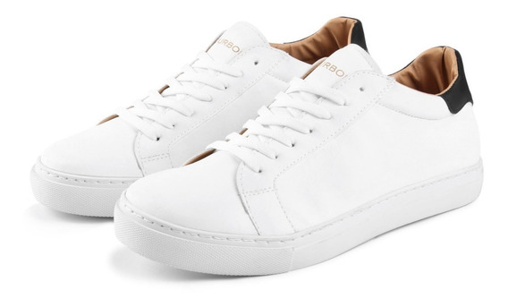 Zapatillas Urbanas Cuero Premium De Hombre Bourbon Store