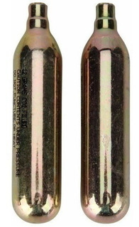 2x Cartucho Bomba Refil Tubo Cilindro Refil Co2 12g Chopeira