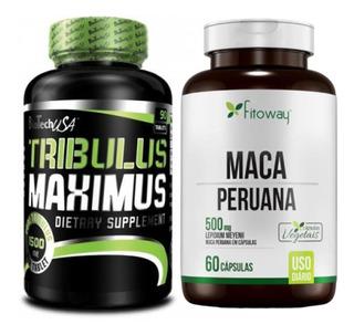 Tribulus Terrestris Maximus 1500mg + Maca Peruana Fitoway