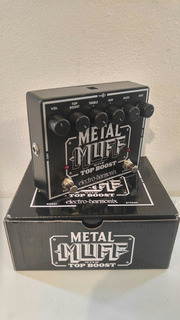 Electro-harmonix Pedal Para Guitarra Electrica Metal Muff