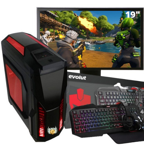 Pc Gamer Completo Amd A4 6300 3.9ghz 8gb + Gt 710
