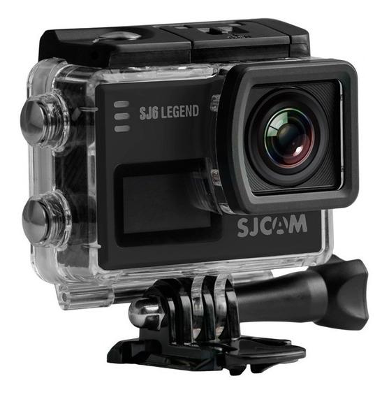 Action Cam Sjcam Sj6 Legend 4k Wifi + Mic. + Cartão 32gb