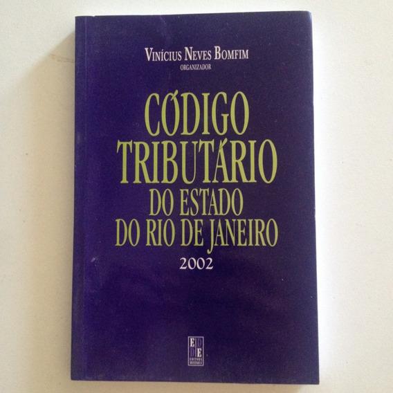 Livro Código Tributário Do Estado De Rio De Janeiro 2002 C2