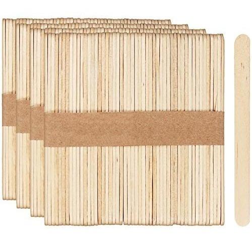 Paletas De Madera Escolar Y Helado 20 Paquetes De 50 Pz