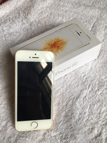 Imagem 1 de 7 de iPhone SE 64gb Gold - Semi-novo - Frete Grátis