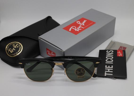 Óculos De Sol Ray Ban Clubmaster Rb3016 Unissex