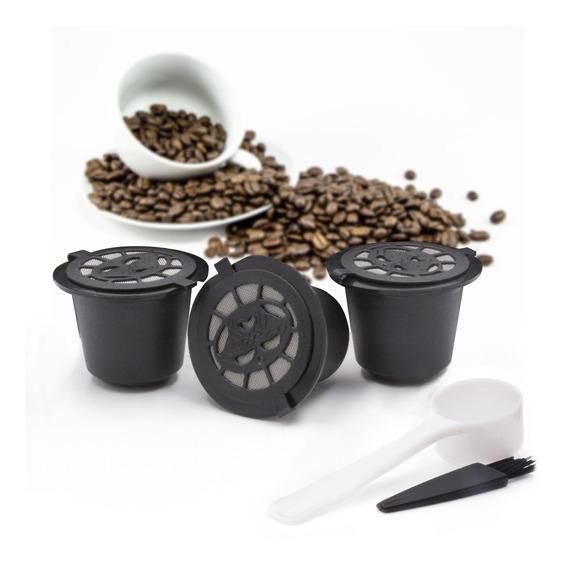 Pack De 3 Cápsulas De Filtro De Café Reutilizables Nespresso