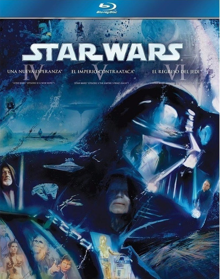 Star Wars Trilogia Episodios 4 5 6 Boxset Peliculas Blu-ray