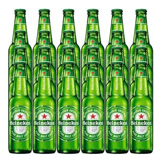 Cerveza Heineken Original Pure Malt Lager Porron 330ml X24