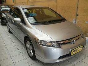 New Civic 1.8 Lxs, Cambio Automatico+couro, Troca E Financia