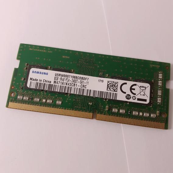 Memória Ram 8gb Ddr4 2400 Mhz Samsung Usado Notebook Laptop
