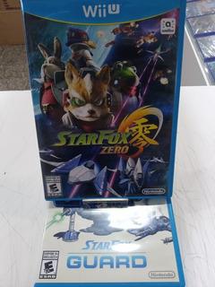 Jogo Nintendo Game Star Fox Zero + Star Fox Guard Wiiu Mídia Física Seminovo Com Garantia