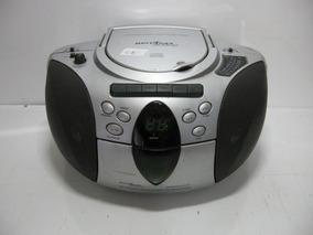 Radio Britânia Bs180 Cd Player Cassete Recorder Ler Anúncio