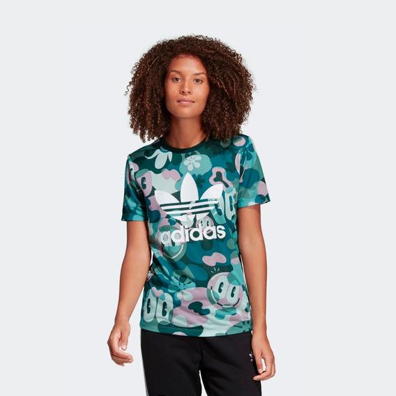 Remera adidas Originals Trefoil Tee Dv2672 Mujer Dv2672-dv26