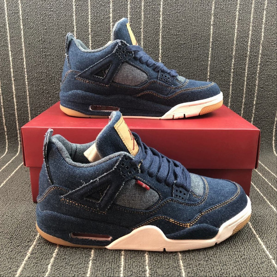 Jordan 4 Retro Levis Denim