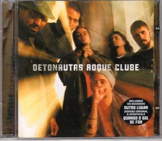 Cd Detonautas Roque Clube Original Perfeito Estado