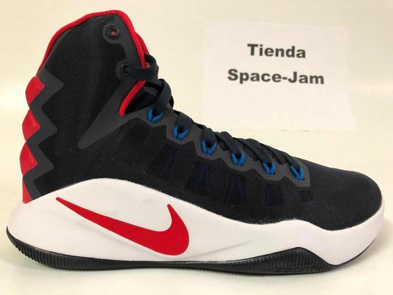 Nike Hyperdunk Blue-white-red. Tienda Space Jam