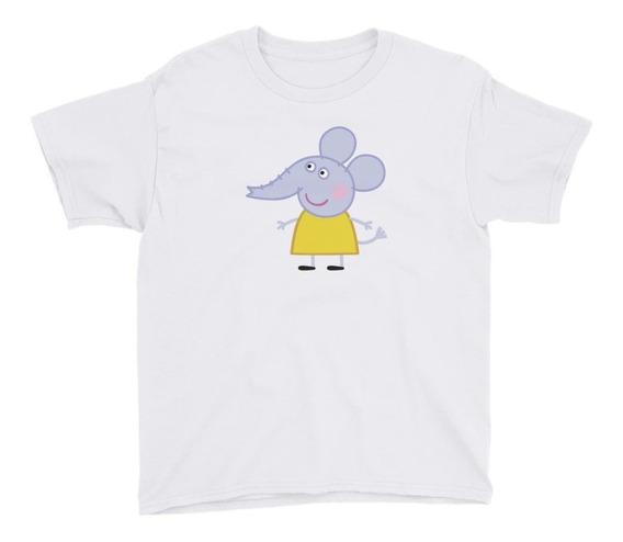 Personalízala Emily Elephant Playera Niños