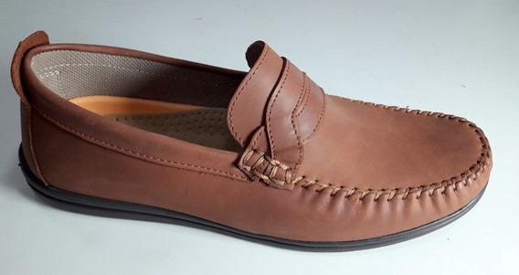 Zapato Cuero Hopper Art 1885 Color Marron