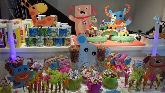 Candy Bar Para 20 Chicos - 5 Golosinas Personalizadas