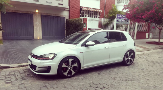 Volkswagen Golf 2.0 Gti Tsi App Connect + Cuero 2017