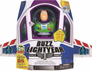 Muñeco Buzz Lightyear Toy Story Interactivo