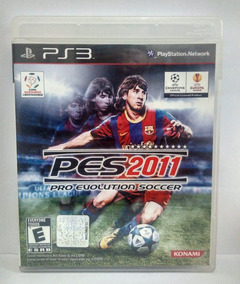 Pro Evolution Soccer Pes 2011 Jogo Ps3 Usado Mídia Fisica