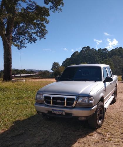 Imagem 1 de 8 de Ford Ranger 2003 2.8 Xlt Cab. Dupla 4x4 4p