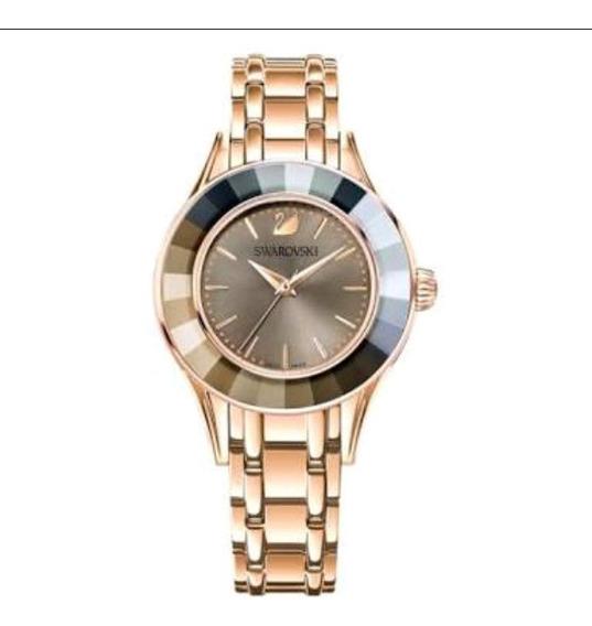 Relógio Swarovski Alegria Novo Com Certificado. Dourado.