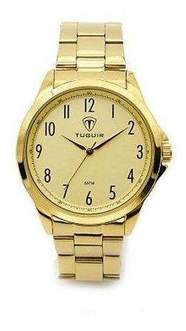 Relógio Tuguir Analógico 5026 - Dourado