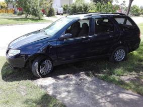 Fiat Palio Weekend Chocada Solo Contado Chocado Volcada