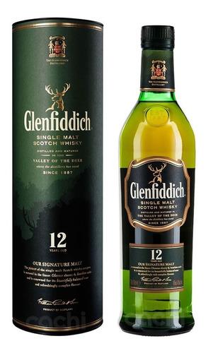 Whisky Glenfiddich 12 Años En Botella De 750ml