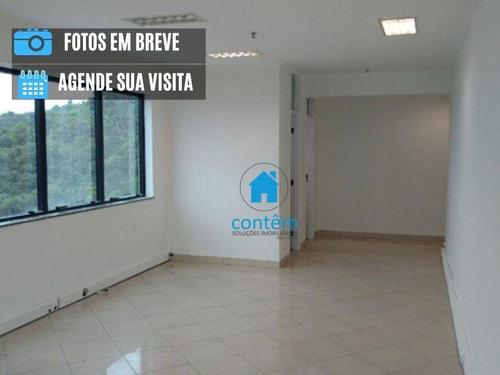 Imagem 1 de 5 de Sala, 44 M² - Venda Por R$ 277.000,00 Ou Aluguel Por R$ 1.000,00/mês - Tamboré 02 - Santana De Parnaíba/sp - Sa0150