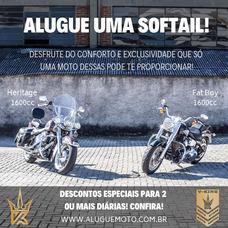 Alugue Uma Moto (harley-davidson/bmw)