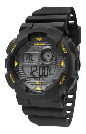 Relógio Mormaii Masculino Mo34158y Digital Pulseira Silicone