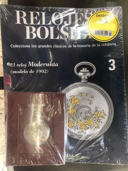 Relojes De Bolsillo #3 El Reloj Modernista Salvat Nuevo