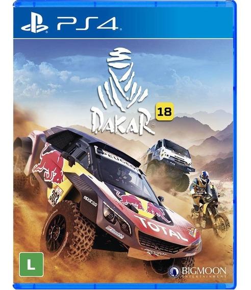 Dakar 18 - Ps4 - Novo - Midia Física - Lacrado