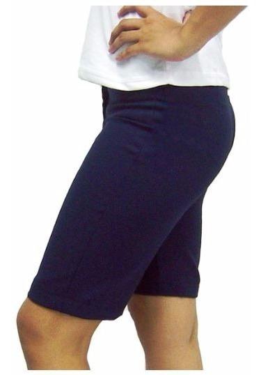 Bermuda Feminina 2 + Camisa Feminina Curta 2