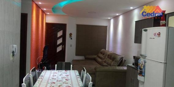 Casa Com 2 Dormitórios À Venda, 54 M² Por R$ 190.000 - Vila São Paulo - Mogi Das Cruzes/sp - Ca0743