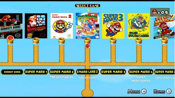 Coletânea Super Mario 9 Em 1,jogos Em Hd-mídia Digital-pc